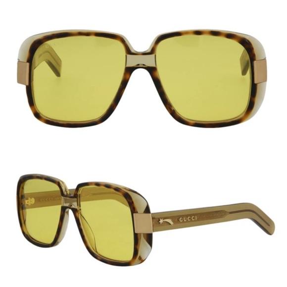 New! Authentic GUCCI Square Sunglasses